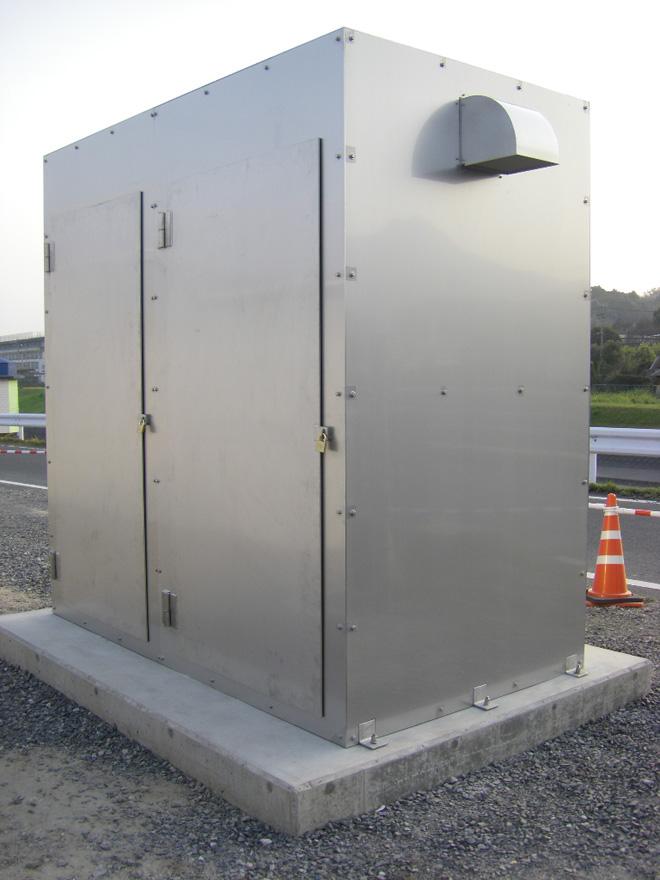 取水施設操作盤BOX